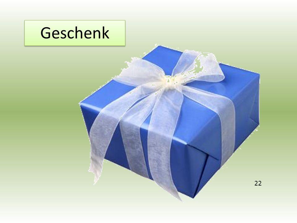 Geschenk 22