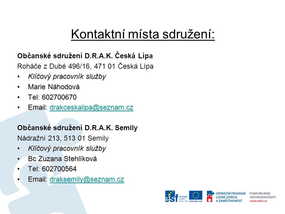 Děkujeme za Vaší pozornost www.sdruzenidrak.org