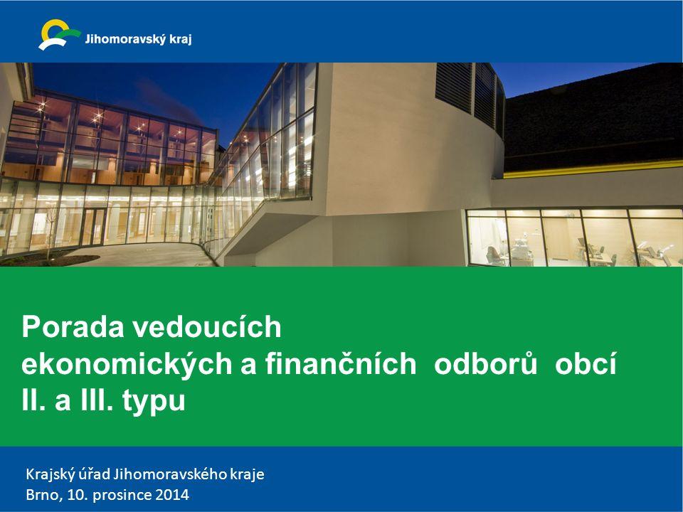 Krajský úřad Jihomoravského kraje Brno, 10.prosince 2014 Věcná břemena v účetní závěrce do 31.