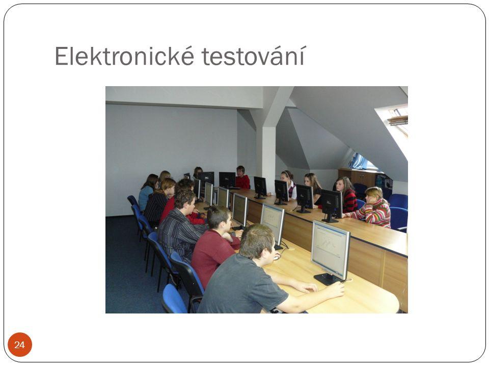 Elektronické testování 24