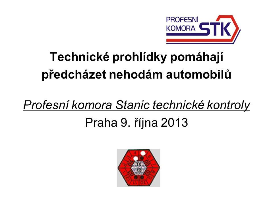 Technické prohlídky pomáhají předcházet nehodám automobilů Profesní komora Stanic technické kontroly Praha 9.