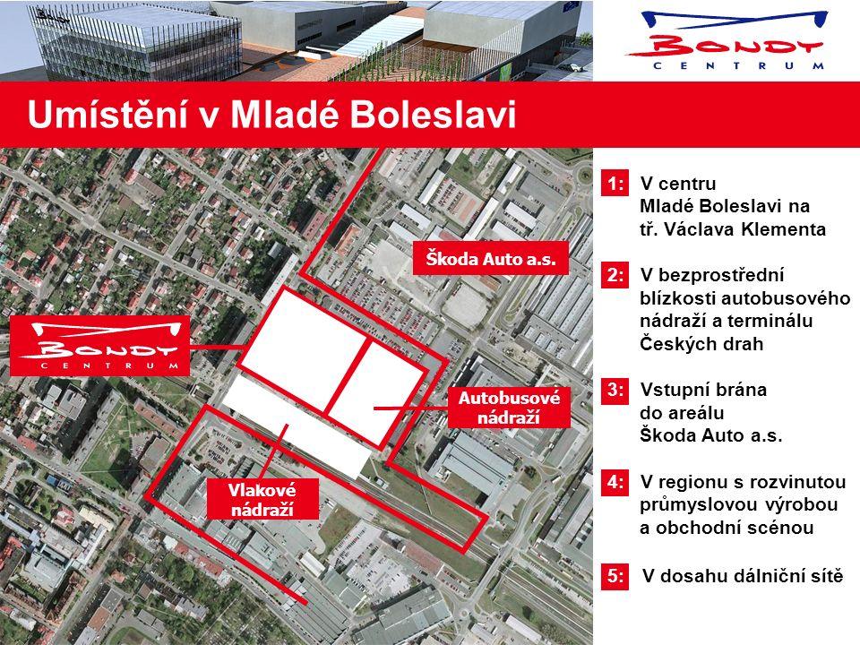 1: Vzdálenost mezi Olympia centrem a Plusem je pouze 5 km !!! 2: Ve městě je výborná obslužnost MHD 3: Hlavní autobusové nádraží bude spojeno přímo s