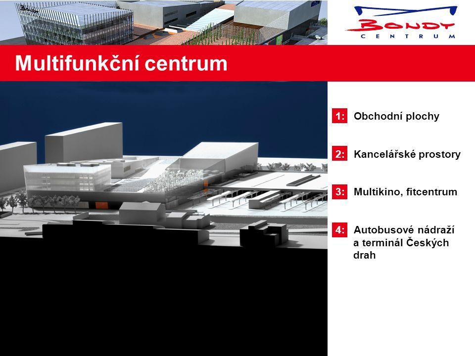 1: V bezprostřední blízkosti Bondy centra je umístěno firemní parkoviště Škoda auto a.s.