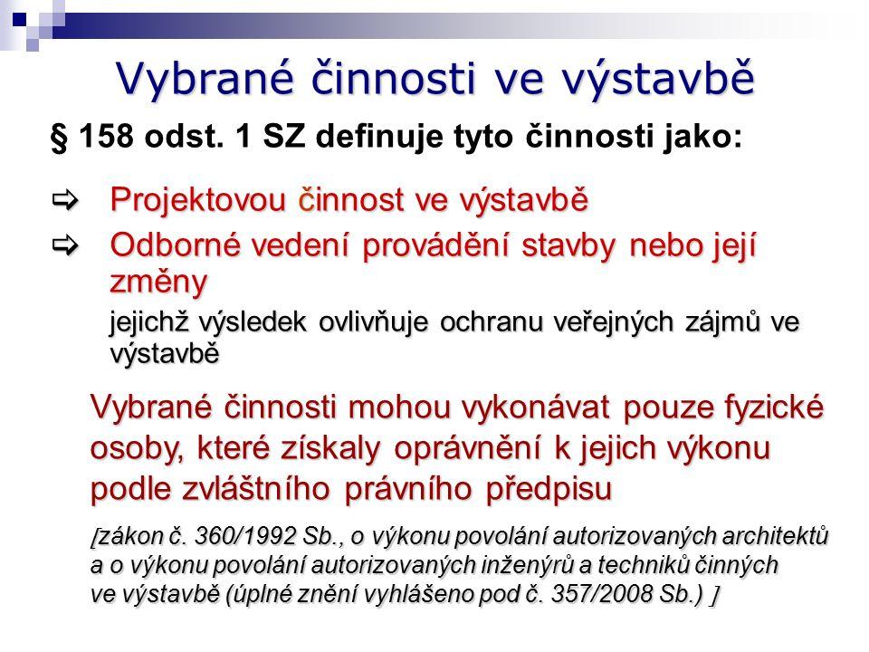 Navrhování PBS Zákon č. 183/2006 Sb. vyhláška č.