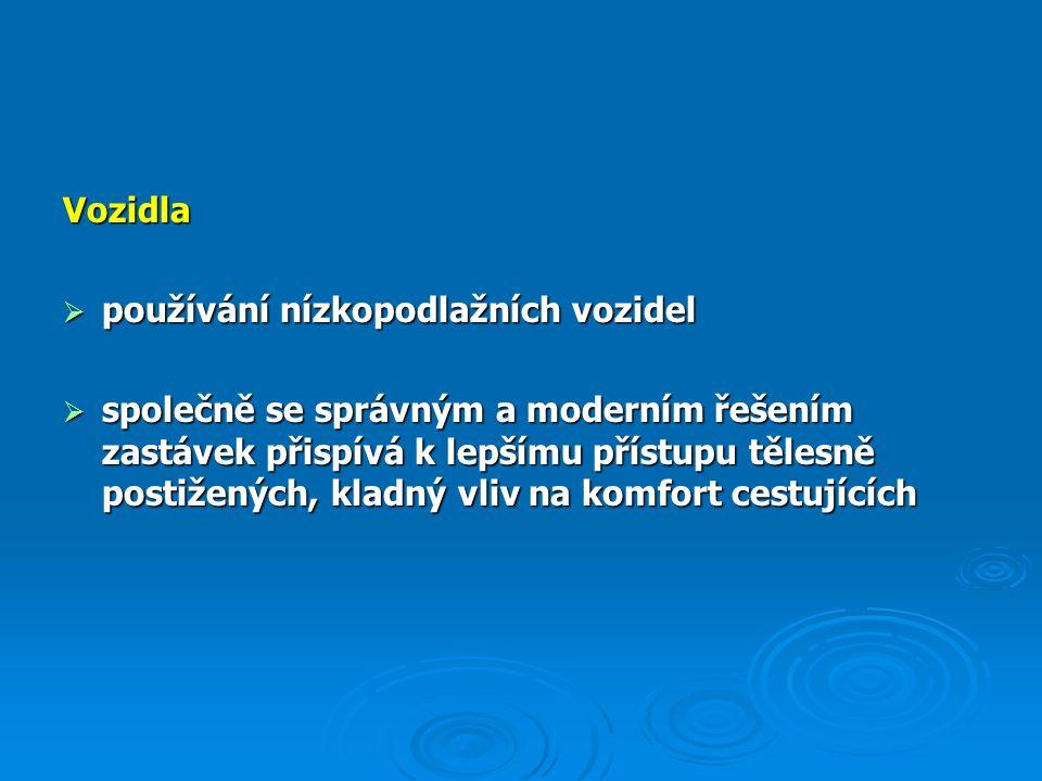 C/ Další typy zastávek hromadné dopravy Liberec – Švermova  jízdní pruh š = 3,5 m, záliv 2,75 m  snížení rychlosti, odstranění ploch pro nedovolené parkování, usměrnění pohybu chodců v zastávce (přechod chybí)