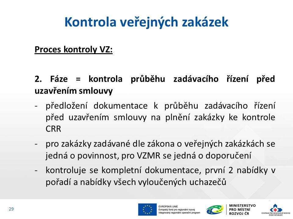 Proces kontroly VZ: 2.