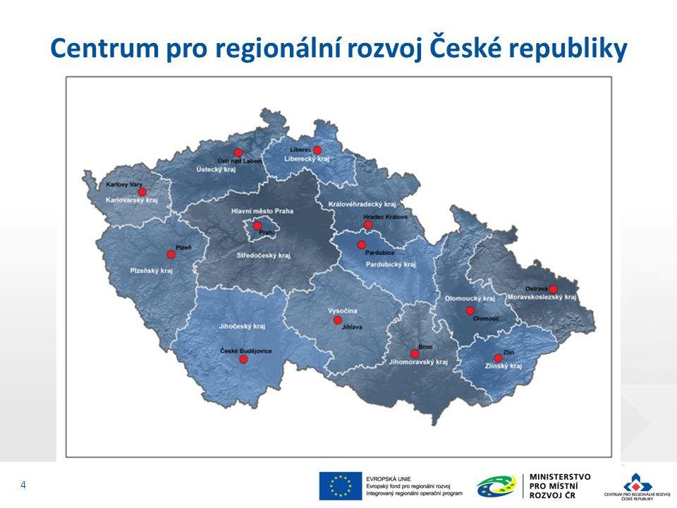 Centrum pro regionální rozvoj České republiky Oddělení pro Jihočeský kraj L.