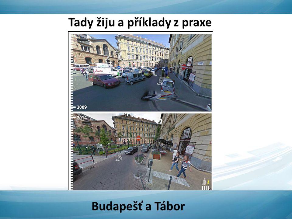 Tady žiju a příklady z praxe Budapešť a Tábor