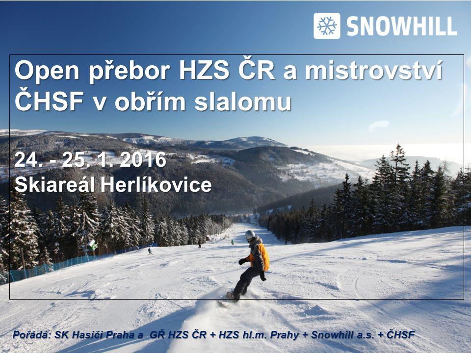 Open přebor HZS ČR a mistrovství ČHSF v obřím slalomu 24.