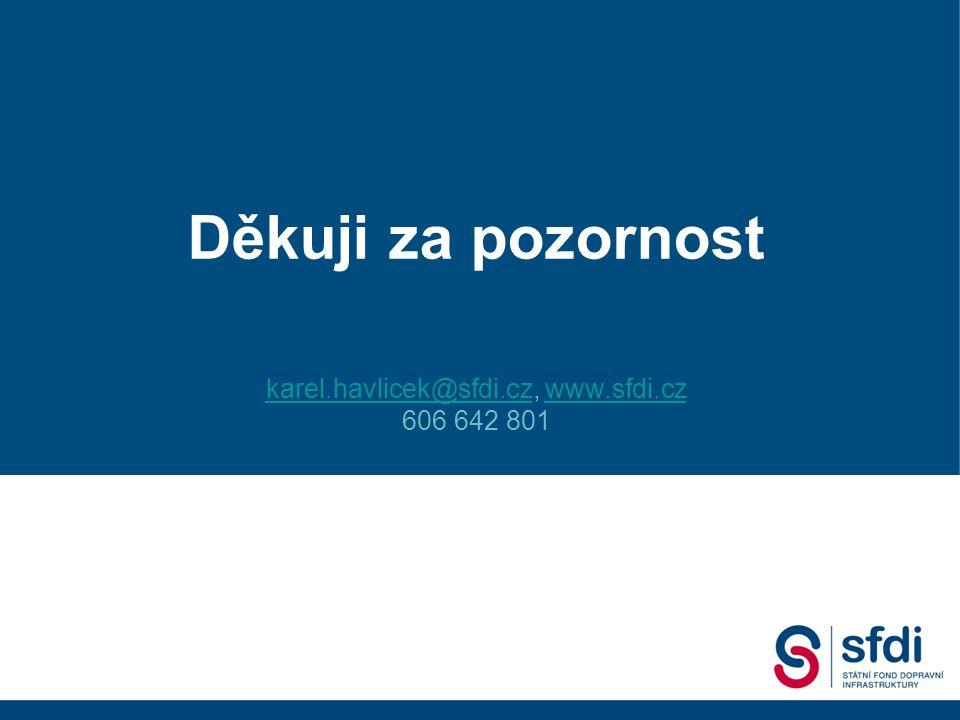 Státní fond dopravní infrastruktury 2. Dopravní fórum, 18.09. 2007 Gustáv Slamečka ředitel SFDI Děkuji za pozornost karel.havlicek@sfdi.czkarel.havlic