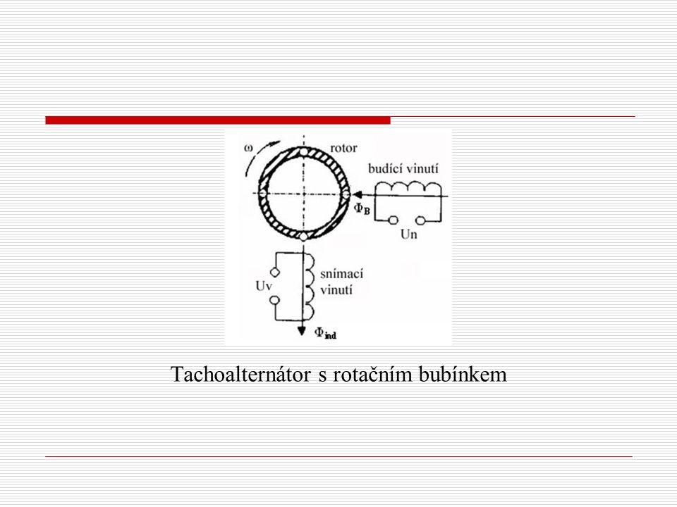 Tachoalternátor s rotačním bubínkem