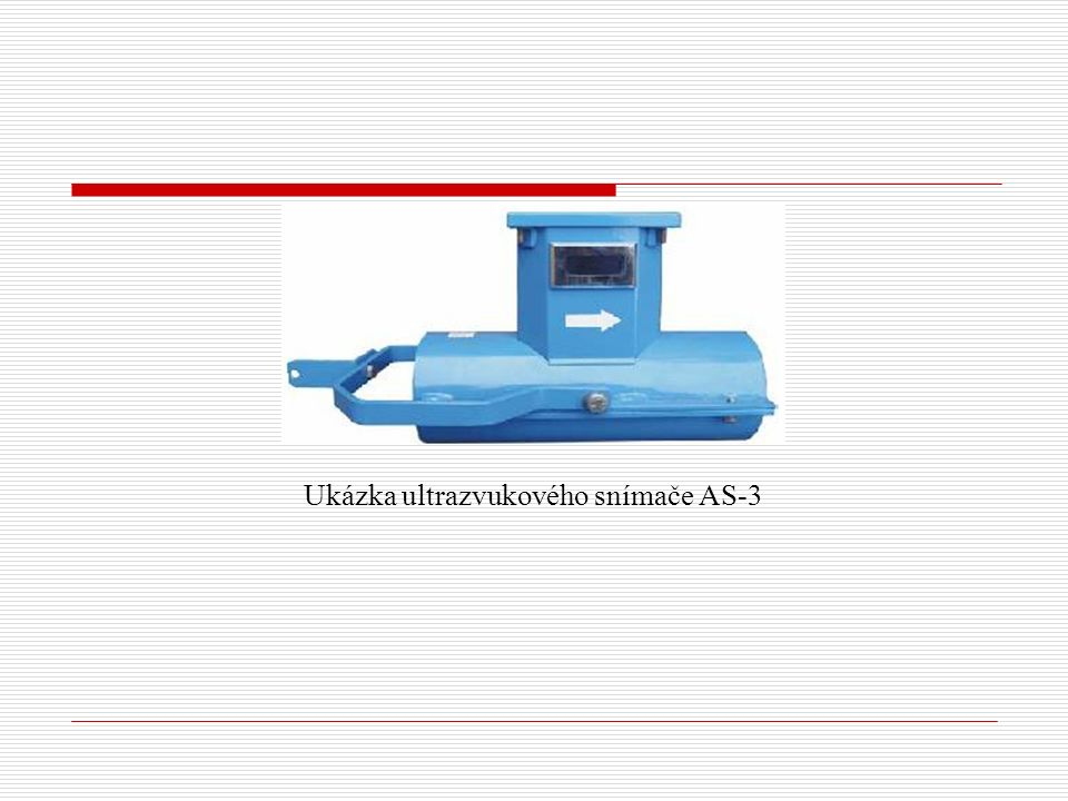 Ukázka ultrazvukového snímače AS-3