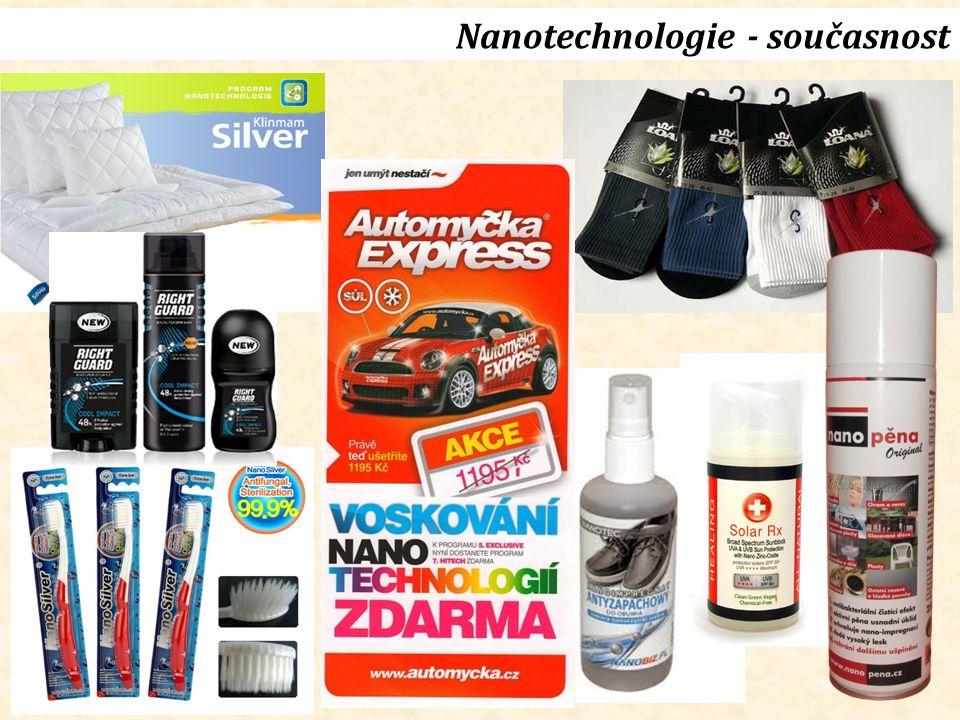 Nanotechnologie - současnost