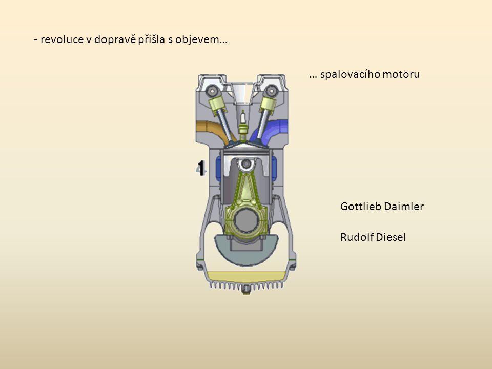 1885 - první motocykl Daimler