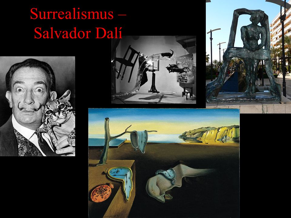 Surrealismus – Salvador Dalí