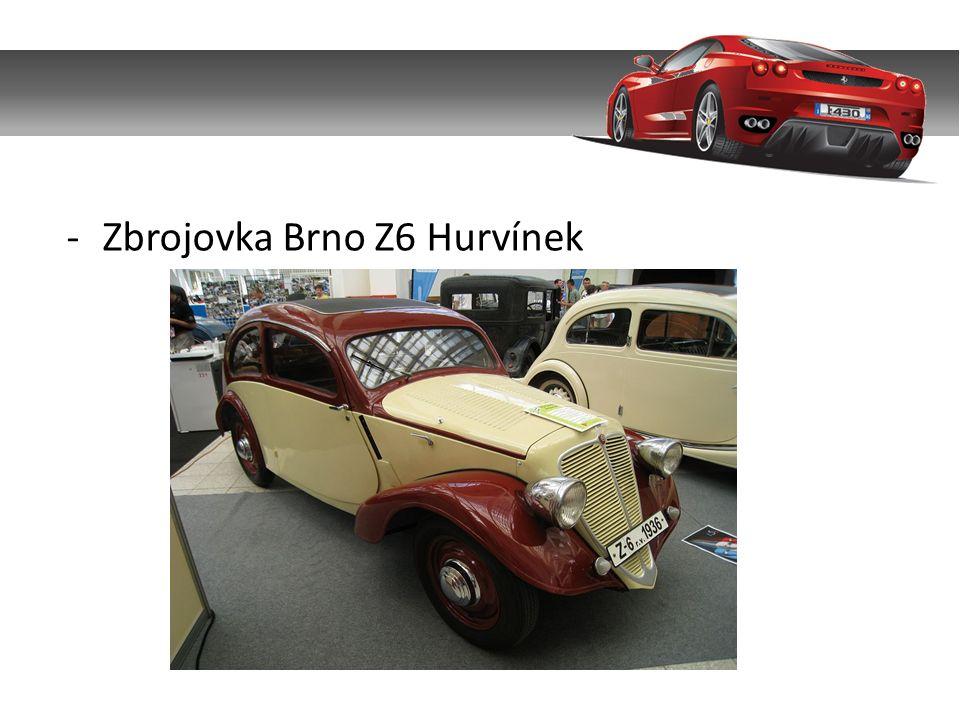 -Zbrojovka Brno Z6 Hurvínek