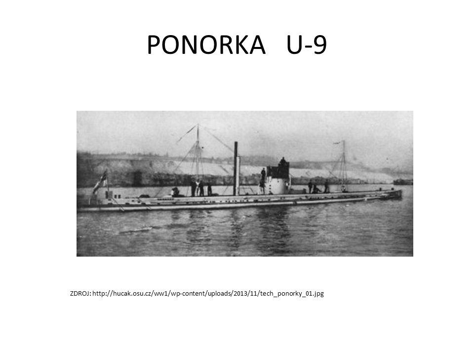PONORKA U-9 ZDROJ: http://hucak.osu.cz/ww1/wp-content/uploads/2013/11/tech_ponorky_01.jpg
