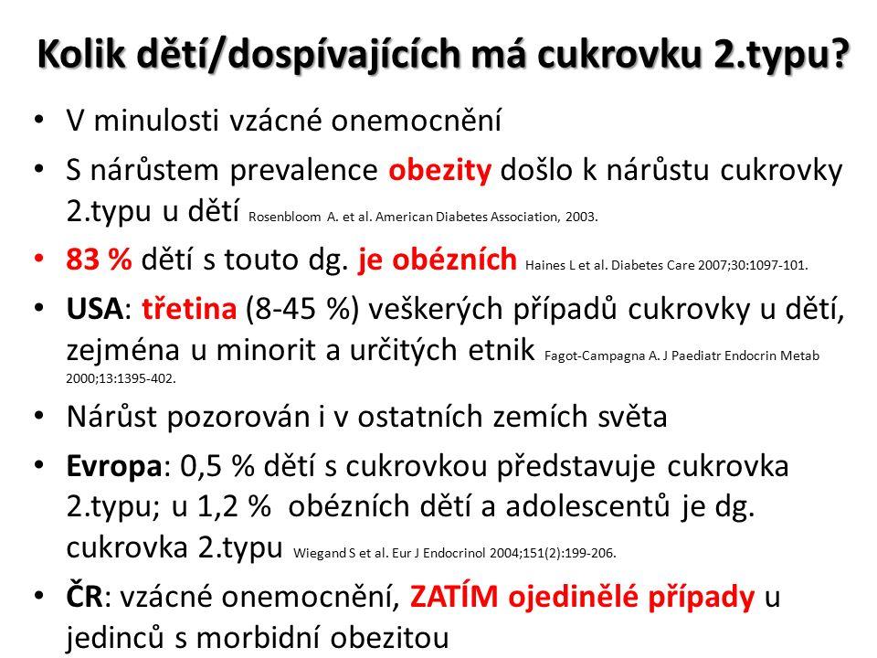 Stav nadváhy a obezity u dětí v ČR V České republice každé páté dítě ve věku 5-18 let trpí nadváhou či obezitou (dle zprávy IOTF z roku 2006, chlapci: 21,9 %, 4,3 % obézní; dívky: 22,5 %, 4,7 % obézní)