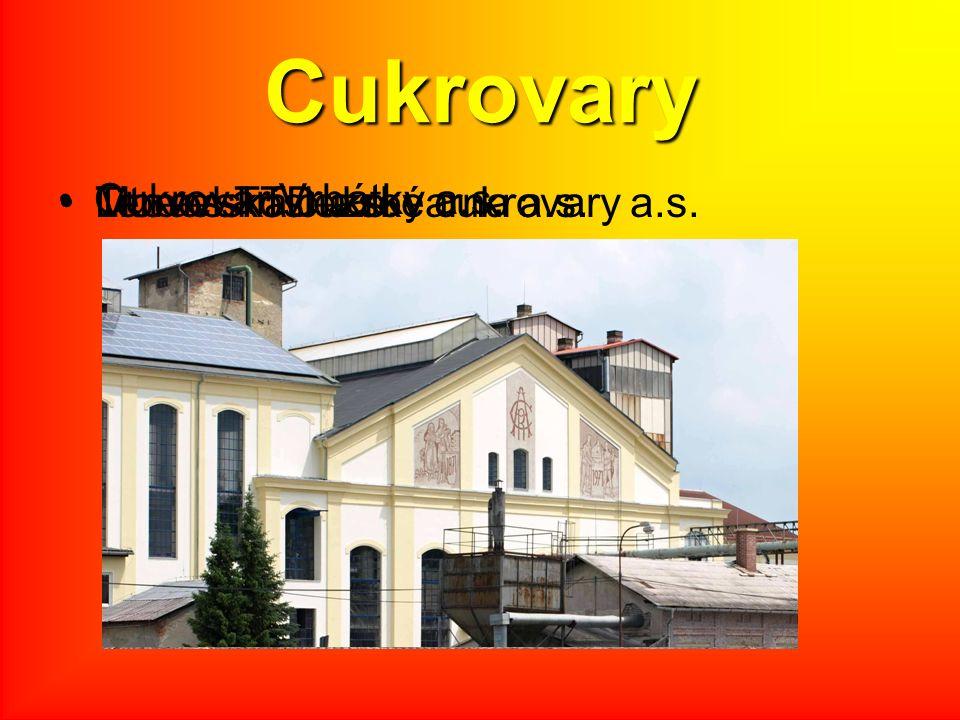 Cukrovary Cukrovar Vrbátky a.s.
