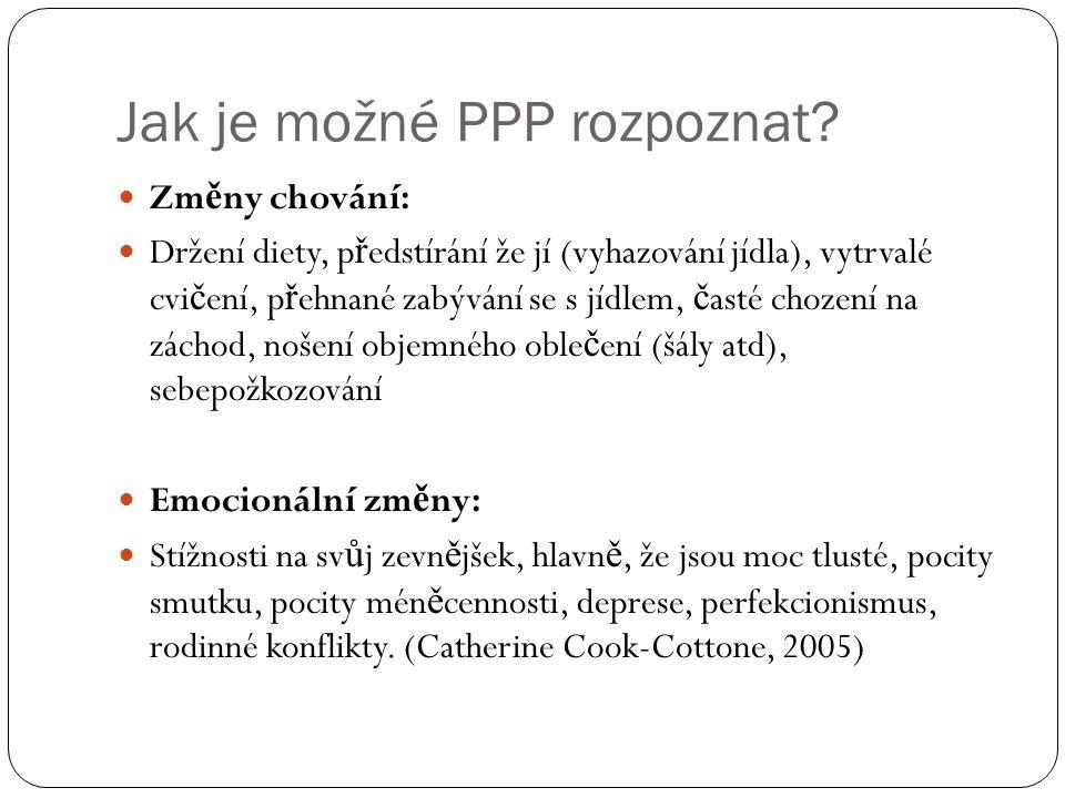 Jak je možné PPP rozpoznat.