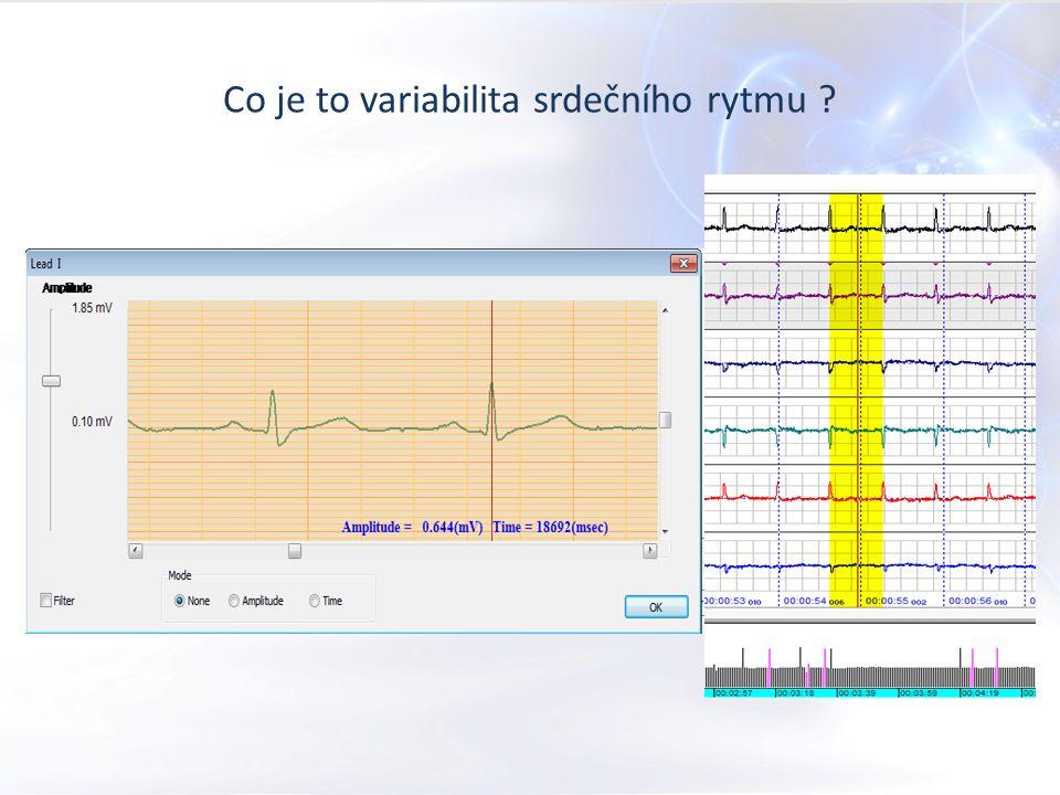 Co je to variabilita srdečního rytmu