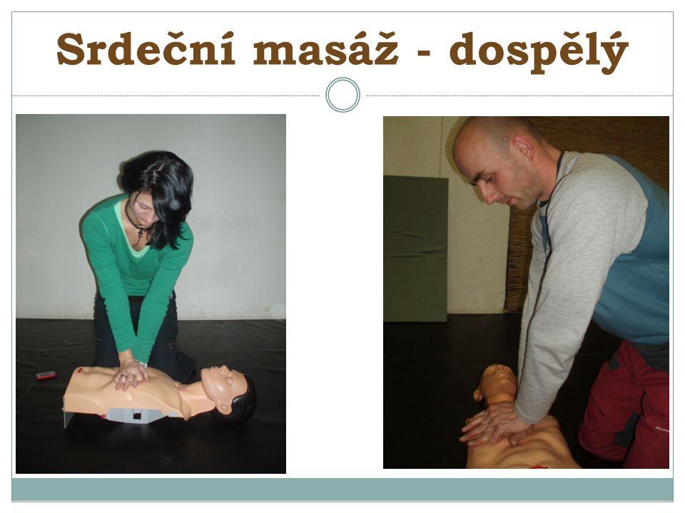 Srdeční masáž - dospělý