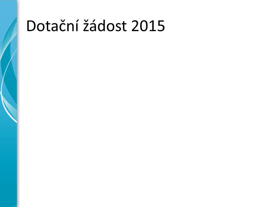 Dotační žádost 2015