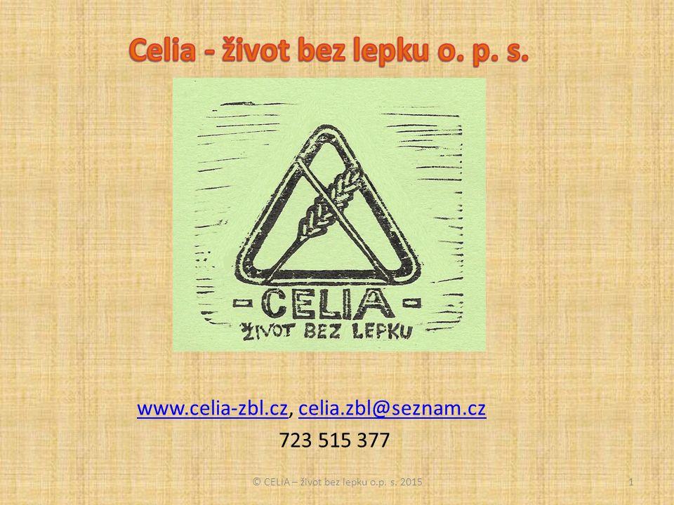 © CELIA – život bez lepku o.p. s. 201512