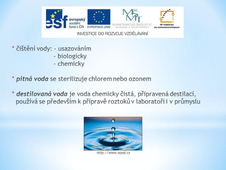 PEROXID VODÍKU H 2 O 2 * bezbarvá olejovitá kapalina, mísitelná s vodou * k prodeji o koncentraci 30%, v lékařství se užívá 3% * patří mezi peroxosloučeniny = látky obsahující dva atomy kyslíku, z nichž každý má ox.