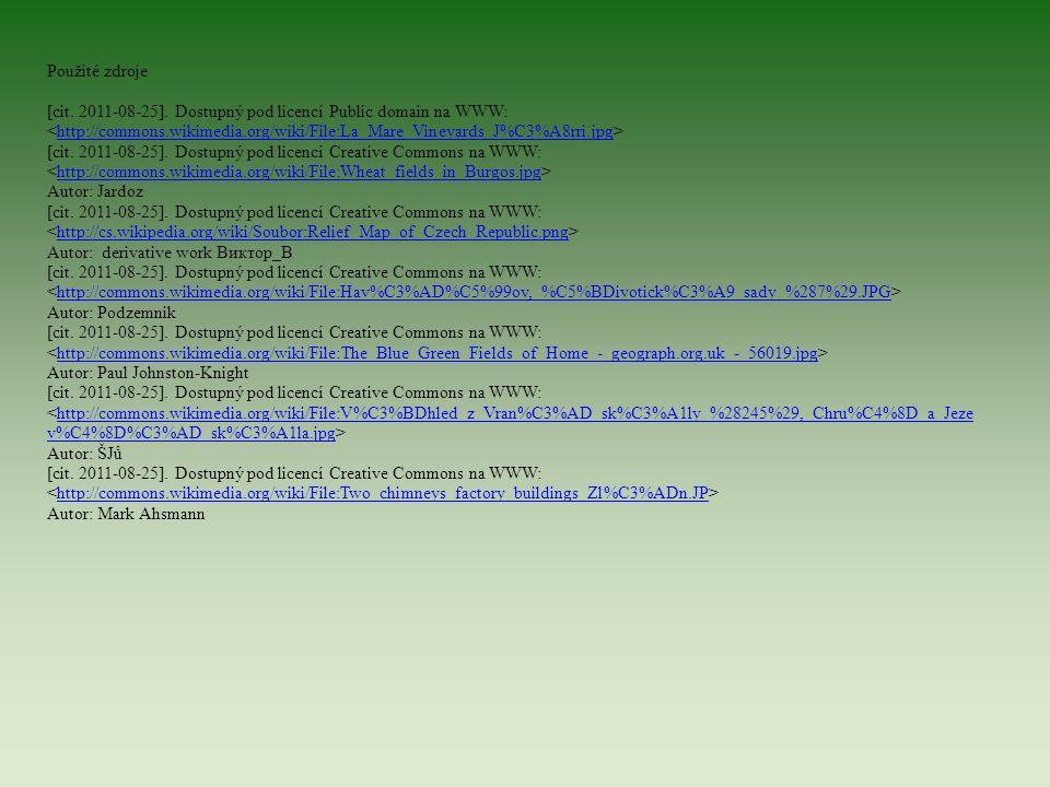 Použité zdroje [cit. 2011-08-25]. Dostupný pod licencí Public domain na WWW: http://commons.wikimedia.org/wiki/File:La_Mare_Vineyards_J%C3%A8rri.jpg [