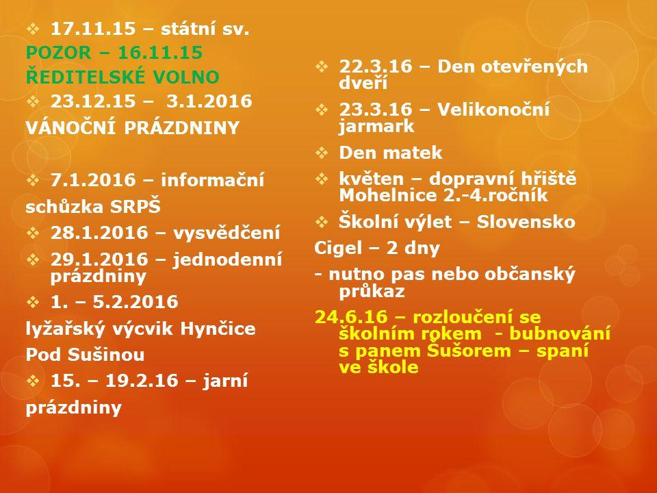  17.11.15 – státní sv.