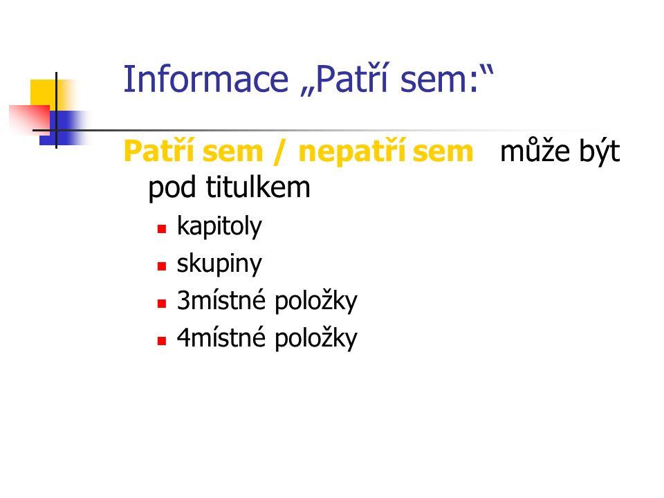 Školení v kódování podle MKN-10 Konvence použité v MKN-10