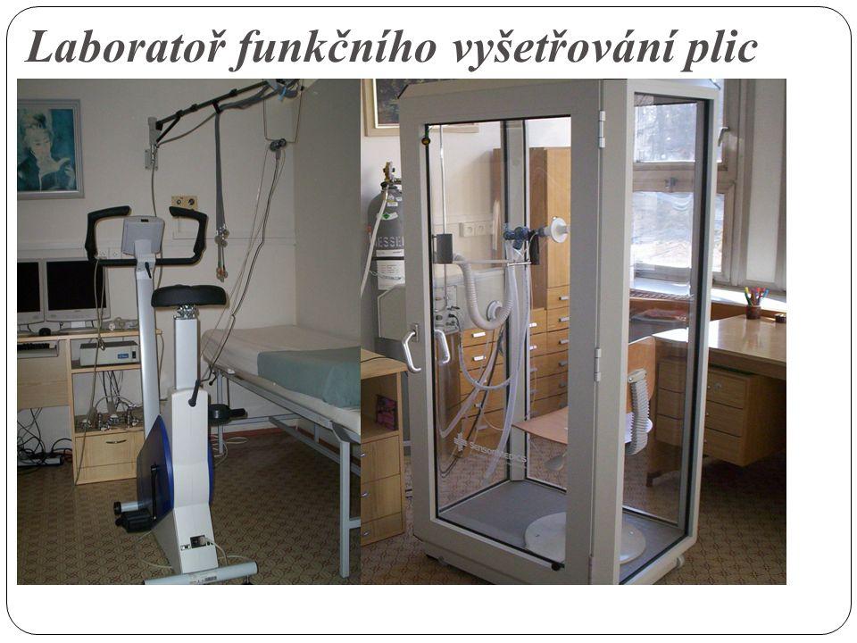 Laboratoř funkčního vyšetřování plic