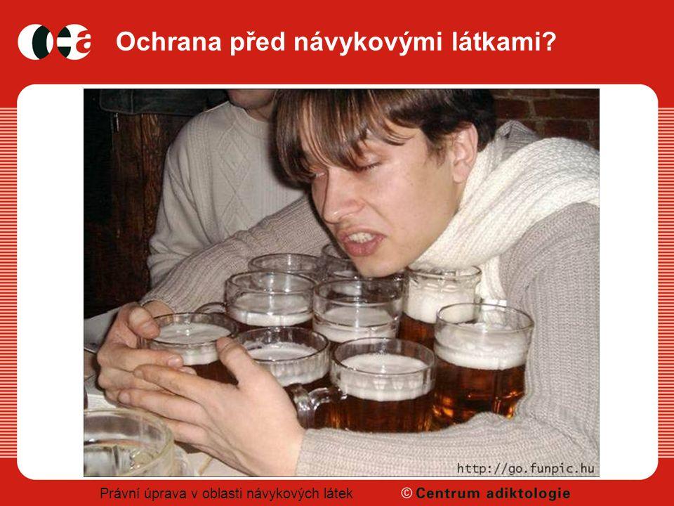 Právní úprava v oblasti návykových látek Ochrana před návykovými látkami?