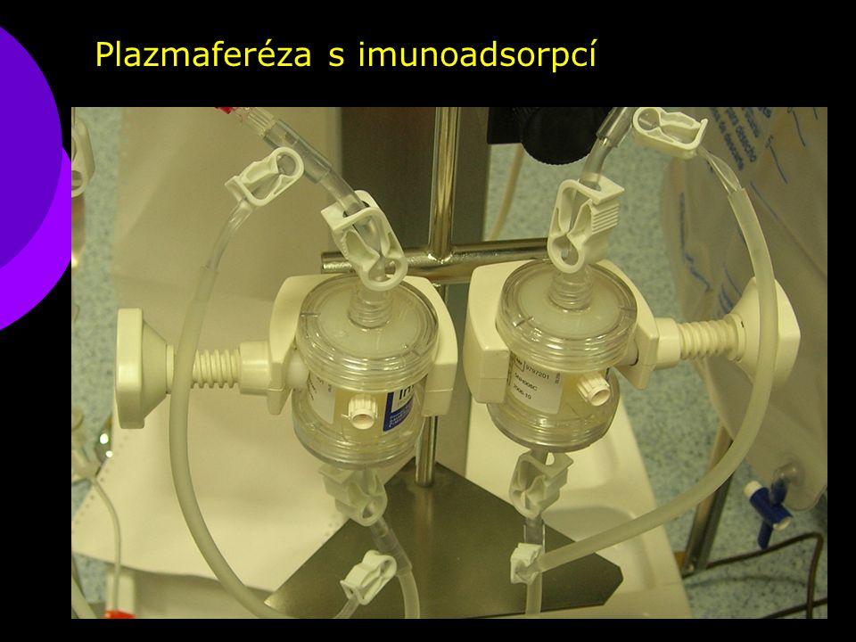 Plazmaferéza s imunoadsorpcí