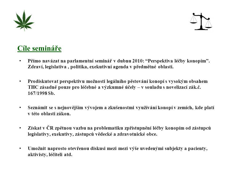 Konopí (marihuana, hašiš) je nejběžnější nelegální drogou.