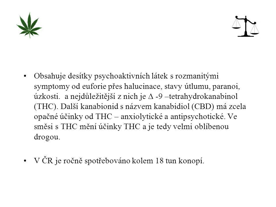 1.Kouření marihuany nezpůsobuje poškození mozku.