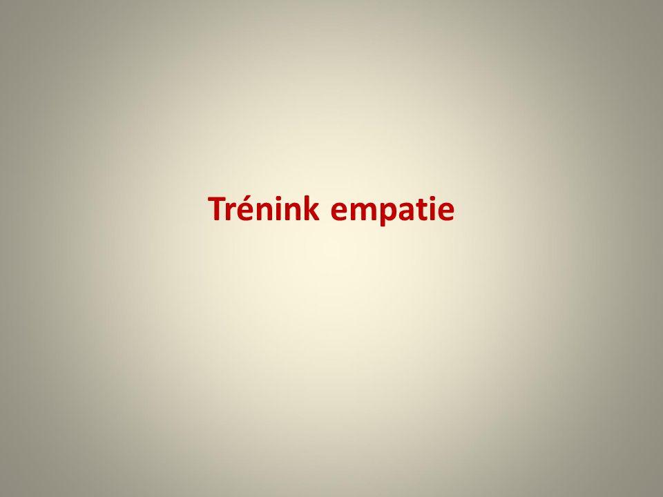 Trénink empatie