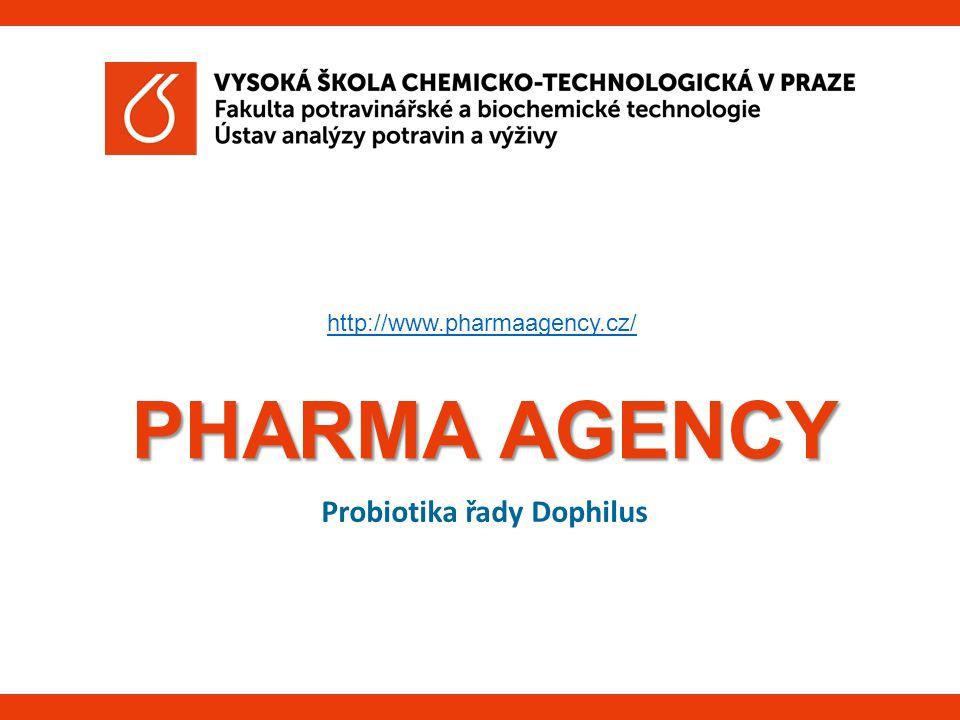PHARMA AGENCY Probiotika řady Dophilus http://www.pharmaagency.cz/