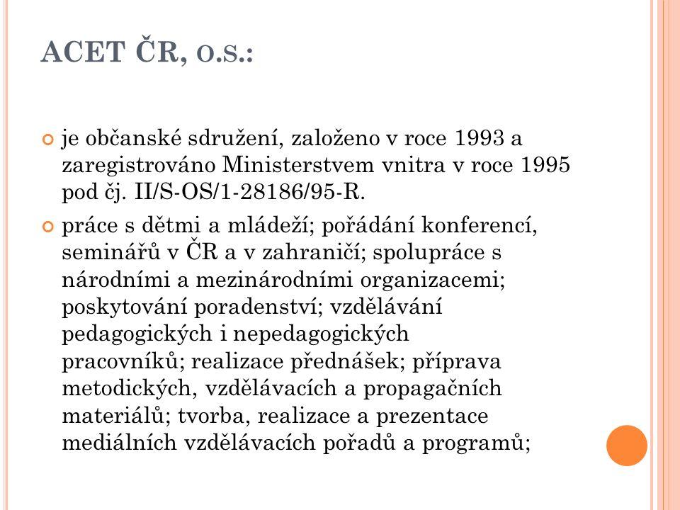 ACET ČR, O.