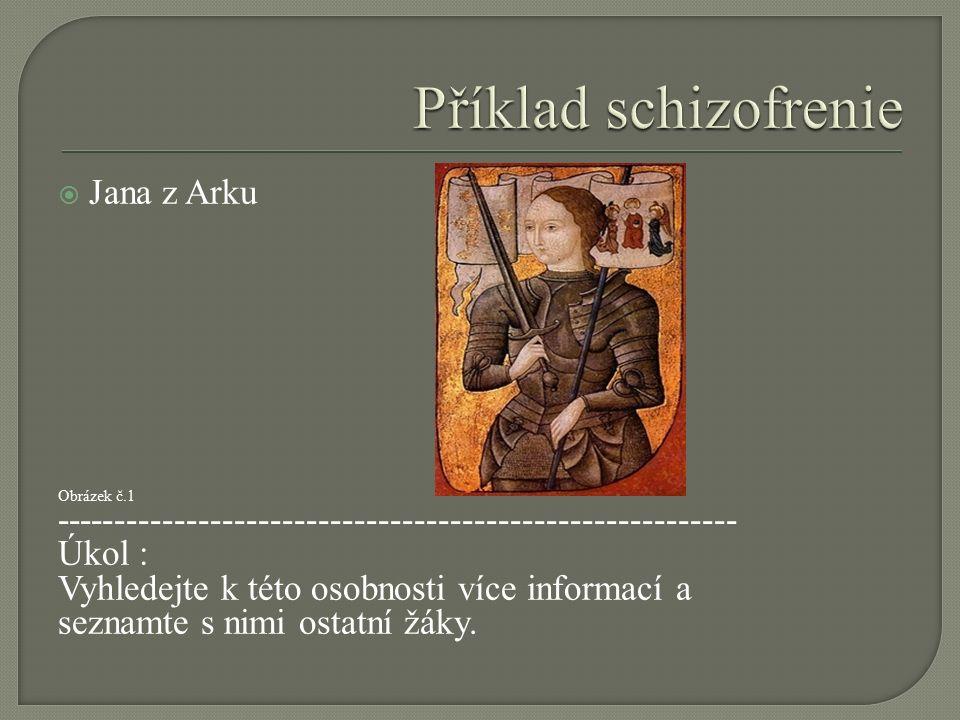  Jana z Arku Obrázek č.1 --------------------------------------------------------- Úkol : Vyhledejte k této osobnosti více informací a seznamte s nim