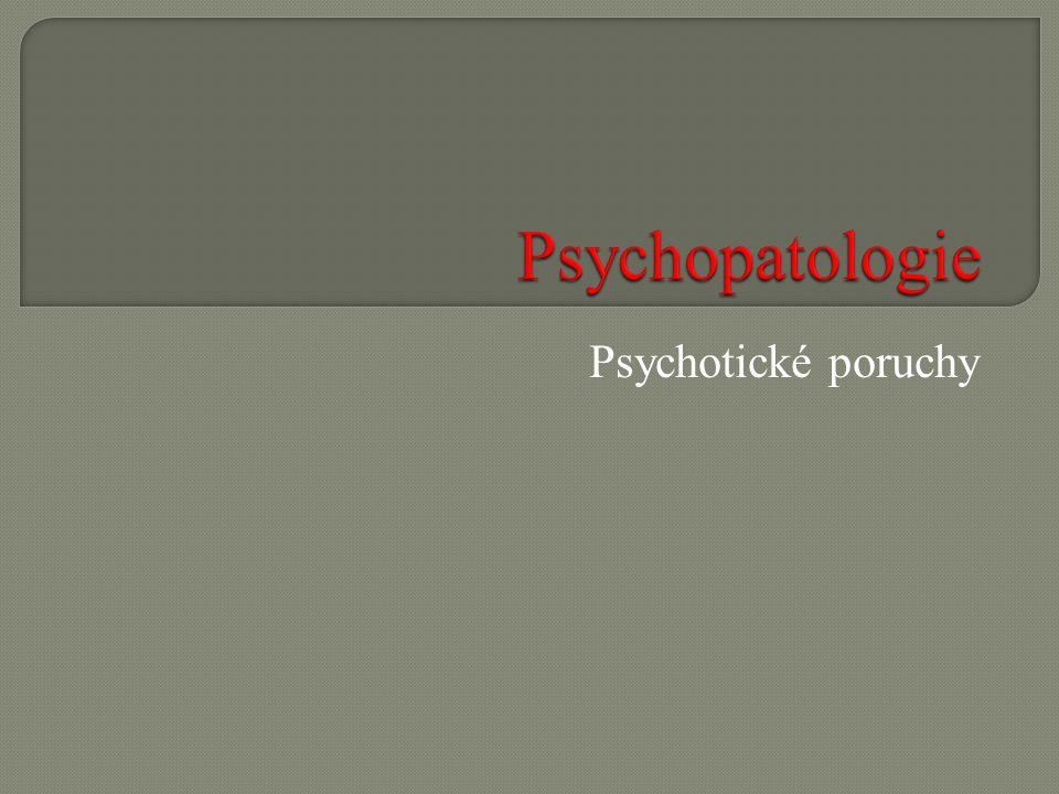 Psychotické poruchy