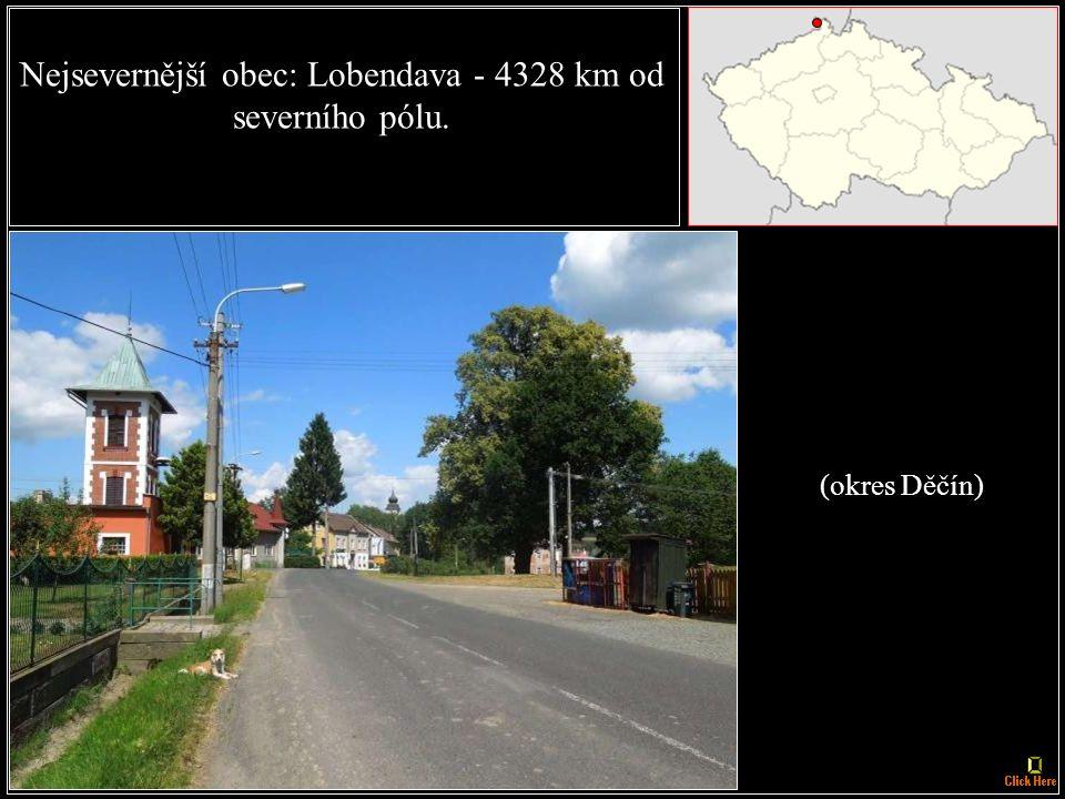 Nejsevernější město: Šluknov (okres Děčín)
