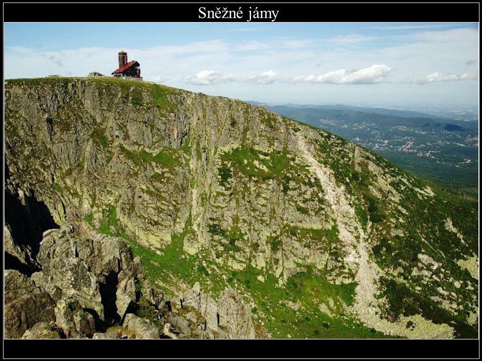 Sněžné jámy - Krkonoše hloubka 300 m (okres Trutnov)