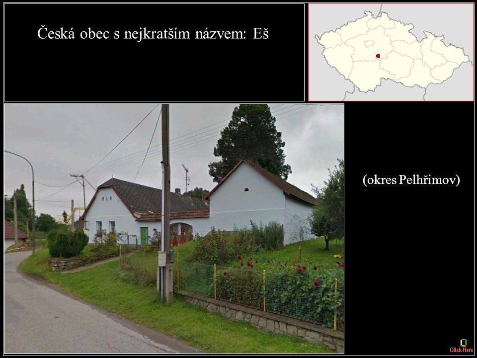 České město s nejkratším názvem: Aš (okres Cheb)