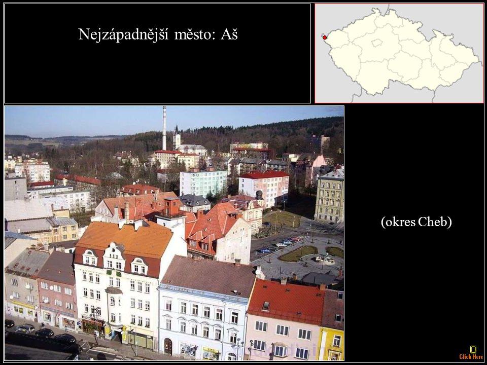 Nejjižnější obec: Horní Dvořiště (okres Český Krumlov)