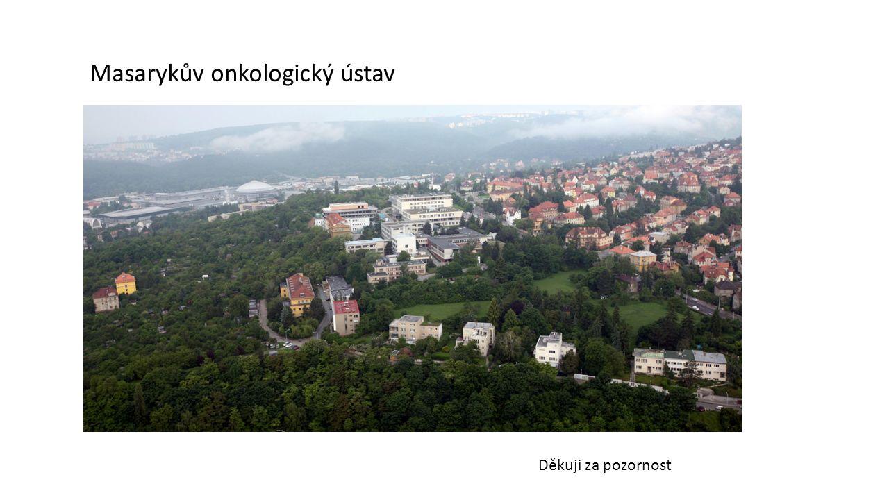Masarykův onkologický ústav Děkuji za pozornost