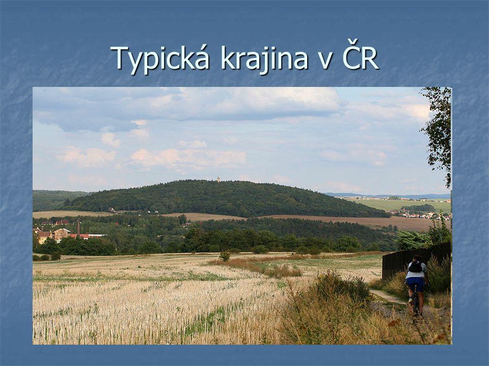 Nejvyšší pohoří - KRKONOŠE Krkonoše na mapě ČR