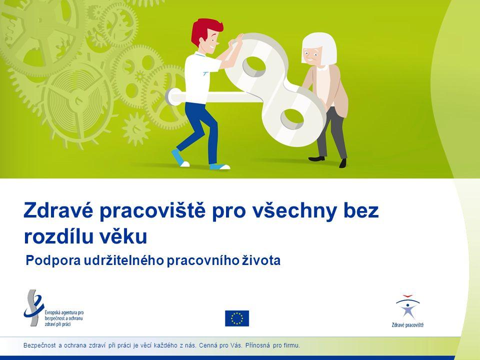 7 www.healthy-workplaces.eu/cs Hlavní cíle  Propagovat udržitelnou práci a zdravé stárnutí od počátku pracovního života  Zdůrazňovat význam prevence po celou dobu pracovního života  Pomáhat zaměstnavatelům a zaměstnancům (i v MSP) poskytováním informací a nástrojů pro řízení BOZP v souvislosti se stárnoucí pracovní silou  Umožnit výměnu informací a sdílení správné praxe
