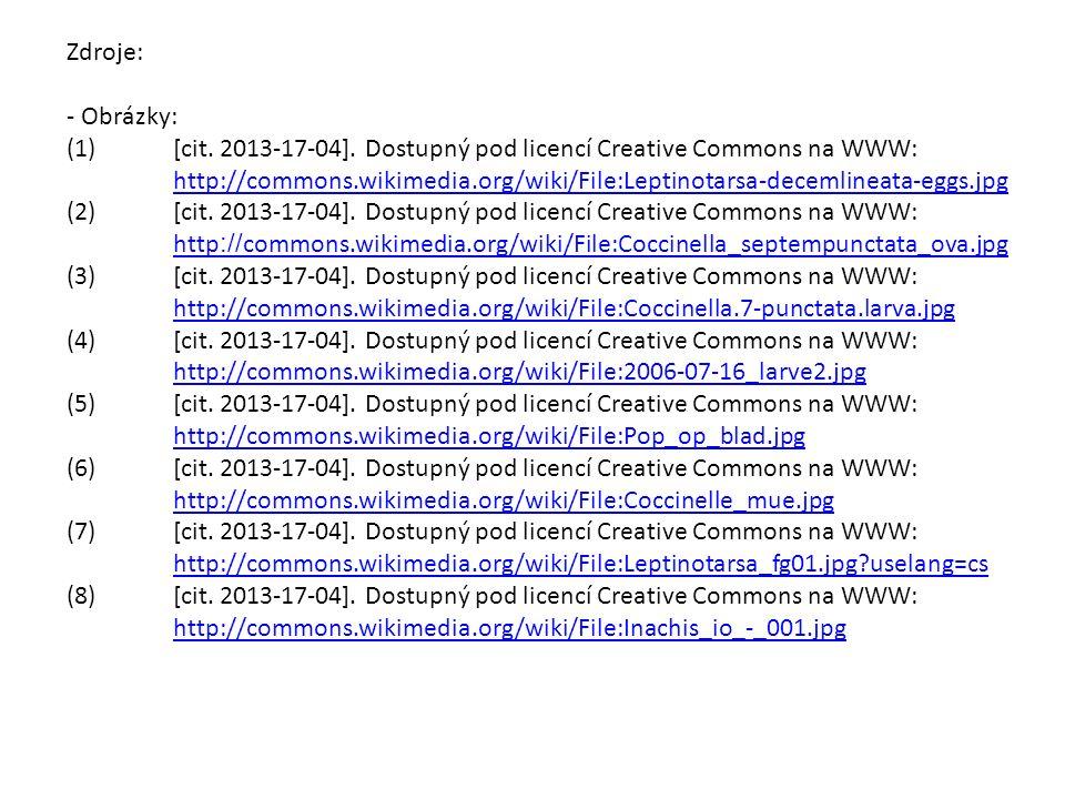 Zdroje: - Obrázky: (1)[cit. 2013-17-04].